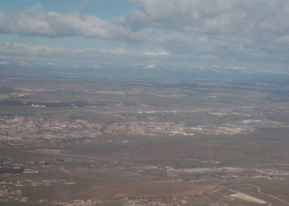 Вид на хребет Сьєрра-де-Ґуадаррама біля Мадрида