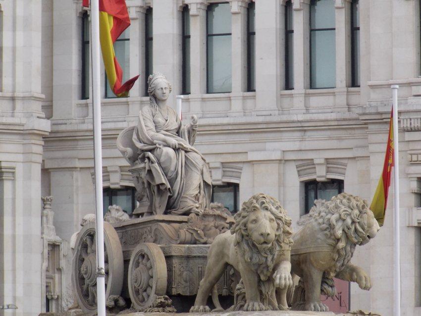 Колісниця Кібелли в центрі Мадрида