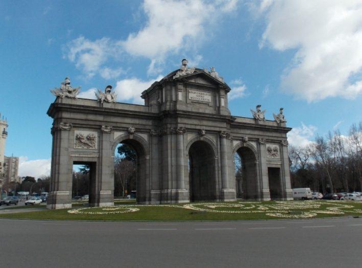 Брама Алкала – одна з брам середньовічного Мадрида,яказбереглась до наших днів