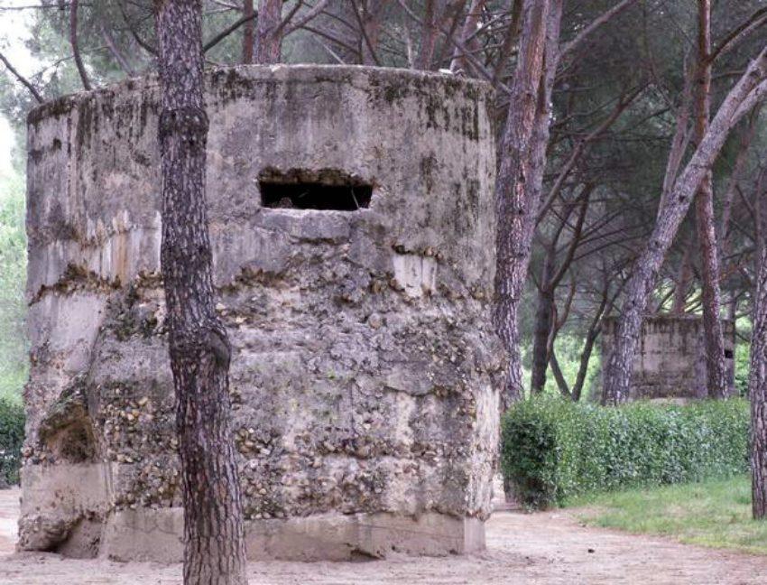 Залізобетонні вогневі точки – пам'ятки оборони Мадрида